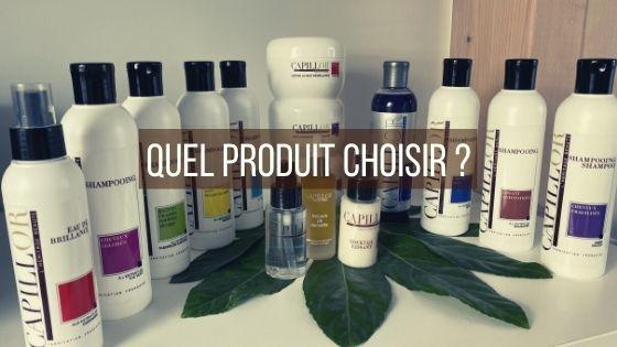 Quel produit Capillor choisir ?